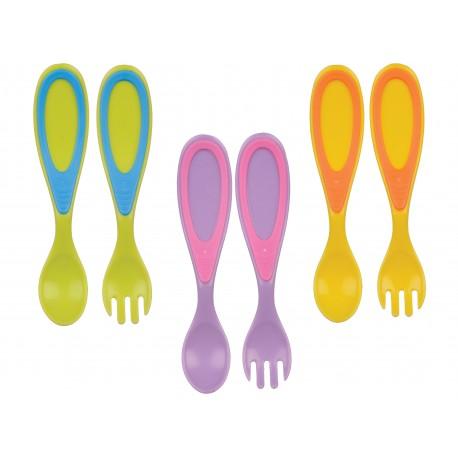 Set tacamuri - lingura si furculita