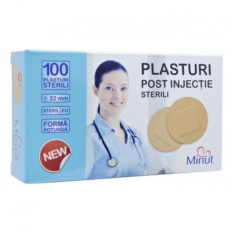 Plasturi post injectie rotunzi