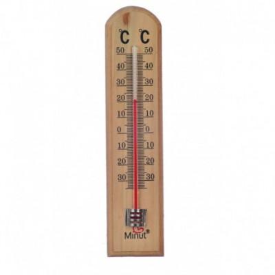 Termometru camera Minut suport lemn